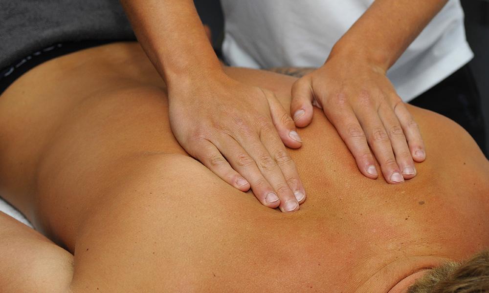 Hoofd, nek en schoudermassage